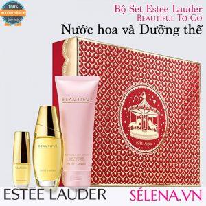 Bộ Set Estee Lauder Beautiful To Go: Nước hoa và Dưỡng thể