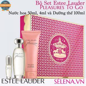Bộ Set Estee Lauder Pleasures To Go 2: Nước hoa và Dưỡng thể