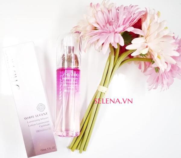 Nước cân bằng dưỡng trắng Shiseido White Lucent Luminizing Infuser 150ml