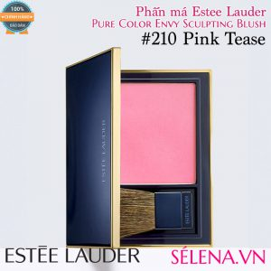 Phấn má Estee Lauder pure colour envy sculpting blush #210 Pink Tease