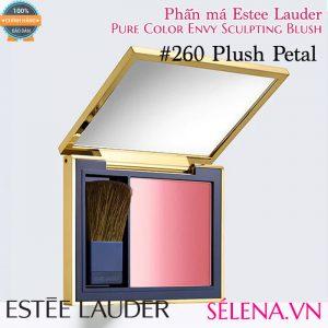 Phấn má Estee Lauder pure colour envy sculpting blush #260 Plush Petal