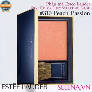 Phấn má Estee Lauder pure colour envy sculpting blush #310 Peach Passion