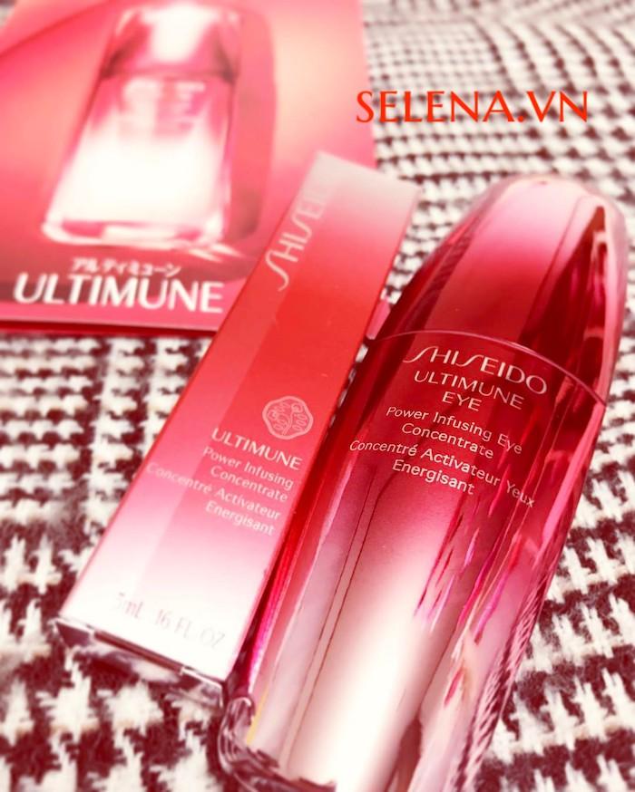 Serum dưỡng mắt Shiseido Ultimune Power Infusing Eye Concentrate 15ml