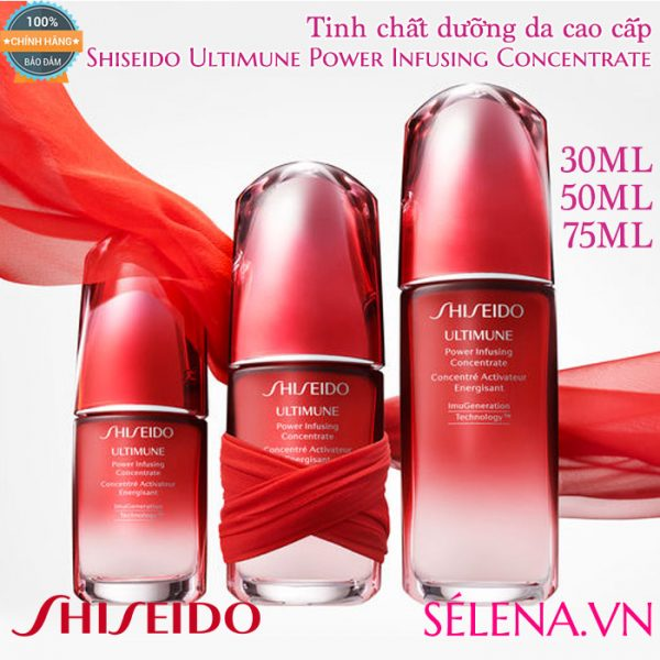 Tinh chất dưỡng da Shiseido Ultimune Power Infusing Concentrate