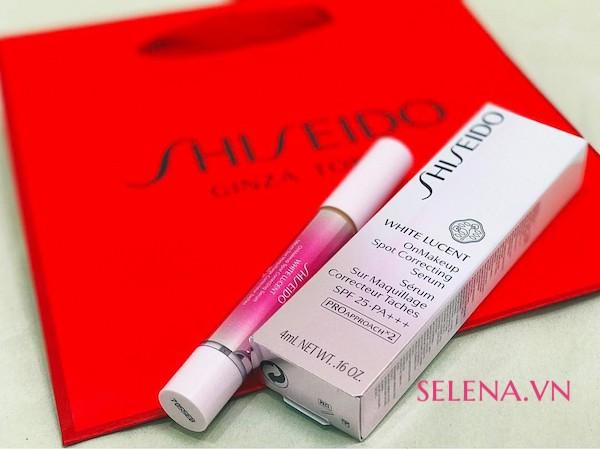 Tinh chất Shiseido White Lucent OnMakeup Spot Correcting Serum 4ml