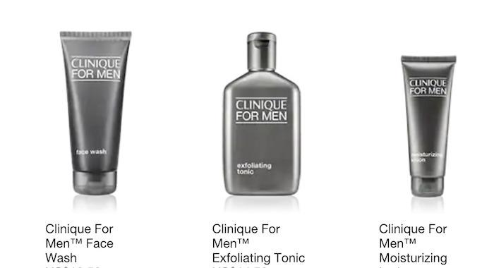 Bộ chăm sóc da Nam Giới bao gồm sửa rửa mặt, tonic thanh tẩy và kem dưỡng ẩm mặt cho nam