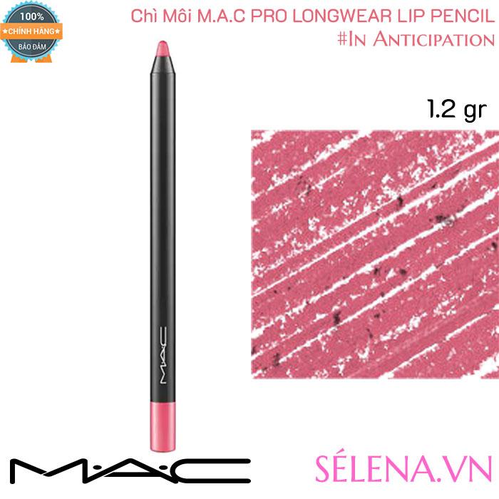 Chì Môi Mac Pro Longwear Lip Pencil 1.2g màu #In Anticipation