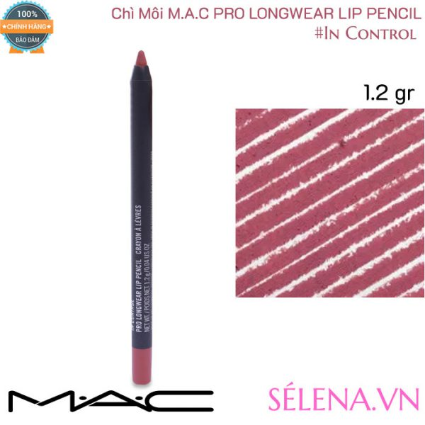 Chì Môi Mac Pro Longwear Lip Pencil 1.2g màu #In Control