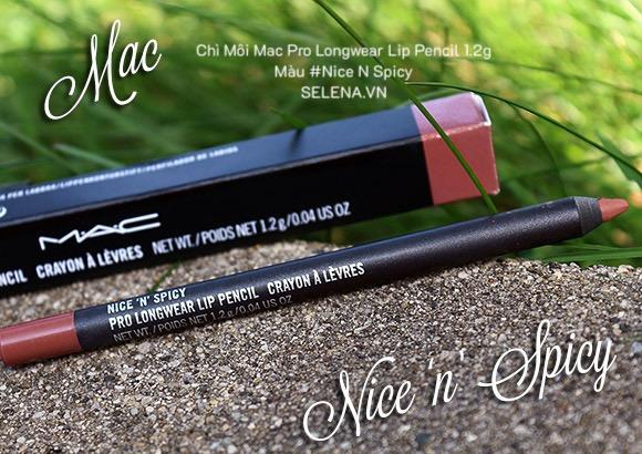 Chì Môi Mac Pro Longwear Lip Pencil 1.2g màu #Nice N Spicy