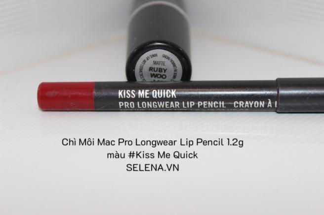 Chì Môi Mac Pro Longwear Lip Pencil 1.2g màu #Kiss Me Quick