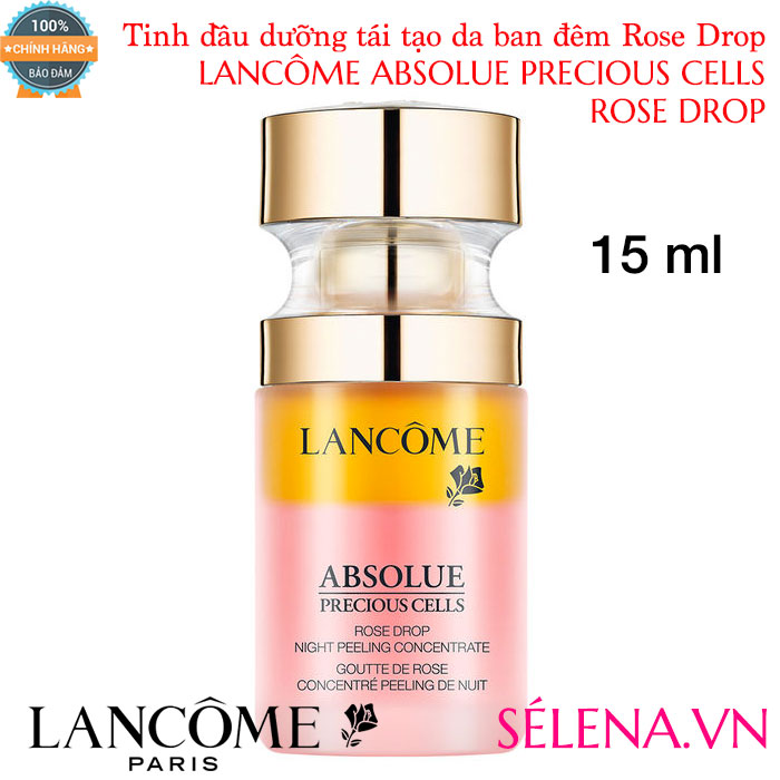 Lancôme Absolue Precious Cells Rose Drop Night Skin Peel Concentrate