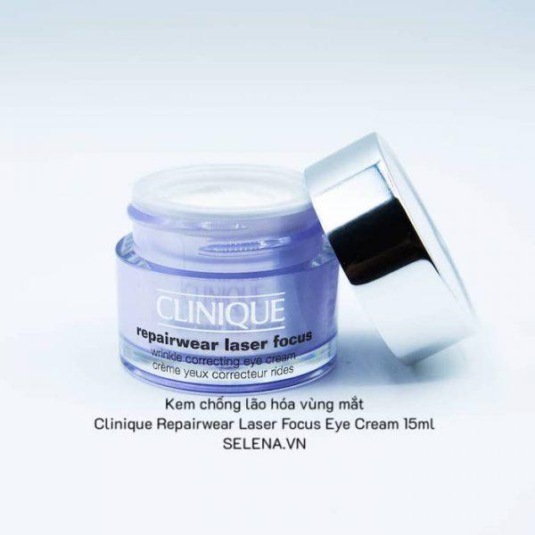 Kem chống lão hóa vùng mắt Clinique Repairwear Laser Focus Eye Cream 15ml