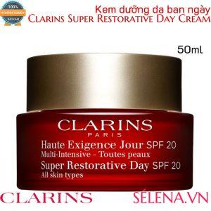 Kem dưỡng da ban ngày Clarins Super Restorative Day Cream 50ml