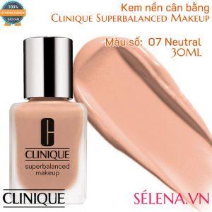 Kem nền cân bằng Clinique Superbalanced Makeup màu 07 Neutral