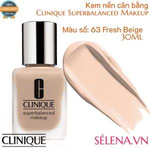 Kem nền cân bằng Clinique Superbalanced Makeup màu 63 Fresh Beige