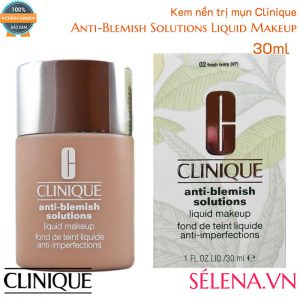 Kem nền trị mụn Clinique Anti-Blemish Solutions Liquid Makeup 30ml