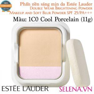 Phấn Nền Estée Lauder Double Wear Brightening Powder #1C0 Cool Porcelain