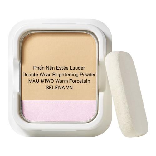 Phấn Nền Estée Lauder Double Wear Brightening Powder #1W0 Warm Porcelain
