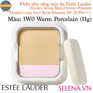 Phấn Nền Estée Lauder Double Wear Brightening Powder #1W0 Warm Porcelain