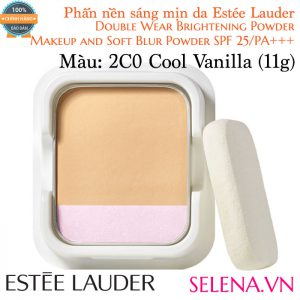 Phấn Nền Estée Lauder Double Wear Brightening Powder #2C0 Cool Vanilla