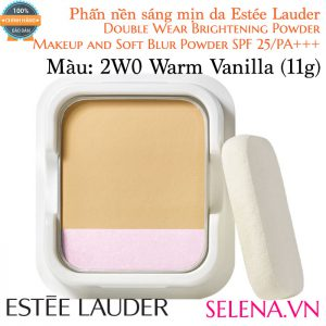 Phấn Nền Estée Lauder Double Wear Brightening Powder #2W0 Warm Vanilla