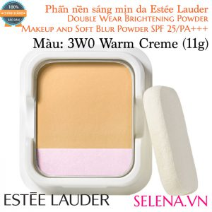 Phấn Nền Estée Lauder Double Wear Brightening Powder #3W0 Warm Creme