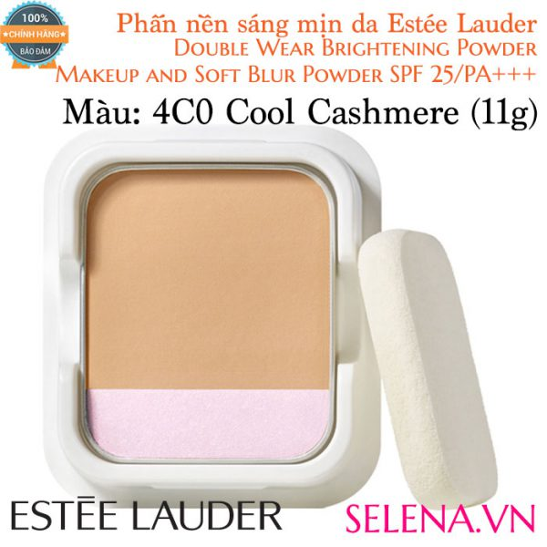 Phấn nền Estée Lauder Double Wear Brightening Powder #4C0 Cool Cashmere