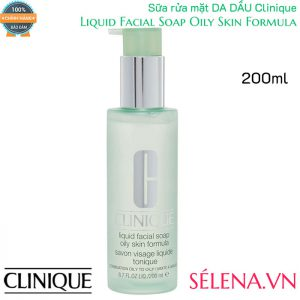 Sữa rửa mặt da dầu Clinique Liquid Facial Soap Oily Skin Formula 200ml
