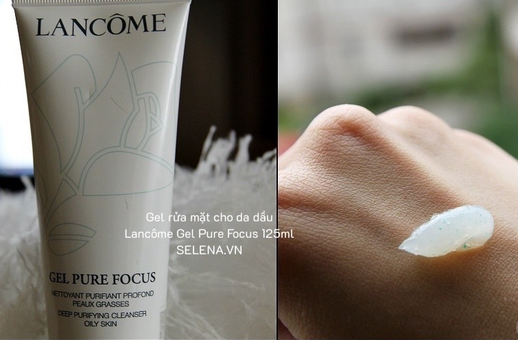 Gel rửa mặt cho da dầu Lancôme Gel Pure Focus 125ml