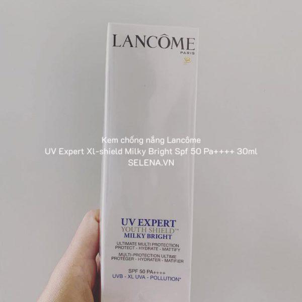 Kem chống nắng Lancôme Uv Expert Xl-shield Milky Bright Spf 50 Pa++++ 30ml
