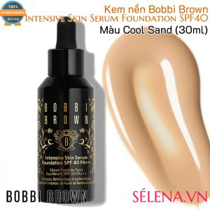 Kem nền Bobbi Brown Intensive Skin Serum Foundation SPF40- Màu Cool Sand