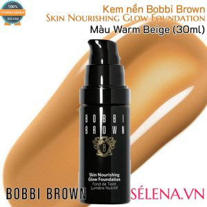 Kem nền Bobbi Brown Skin Nourishing Glow Foundation- Màu Warm Beige
