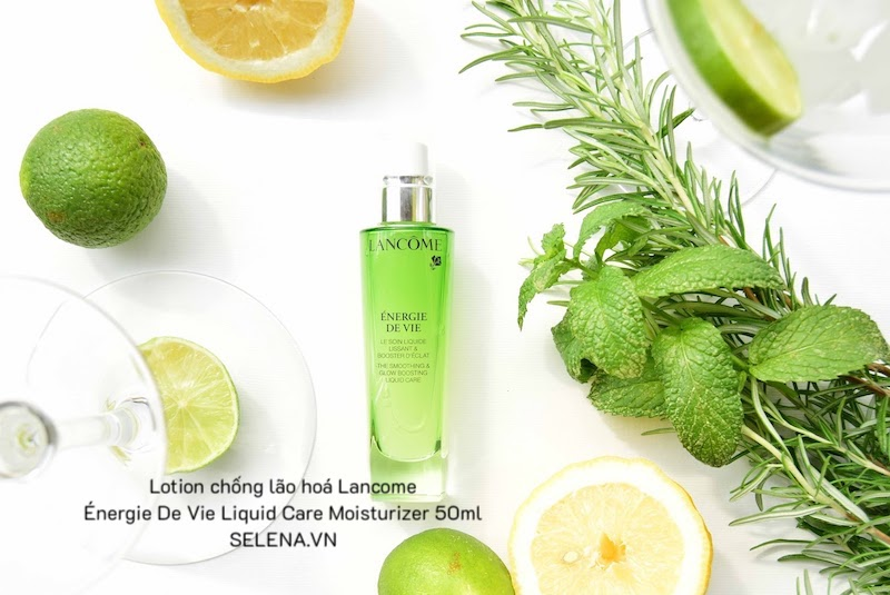 Lotion chống lão hoá Lancome Énergie De Vie Liquid Care Moisturizer 50ml