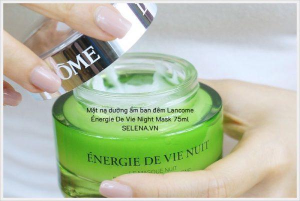 Mặt nạ dưỡng ẩm ban đêm Lancome Énergie De Vie Night Mask 75ml