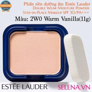 Phấn nền dưỡng ẩm Estée Lauder Double Wear Moisture Powder #2W0 Warm Vanilla