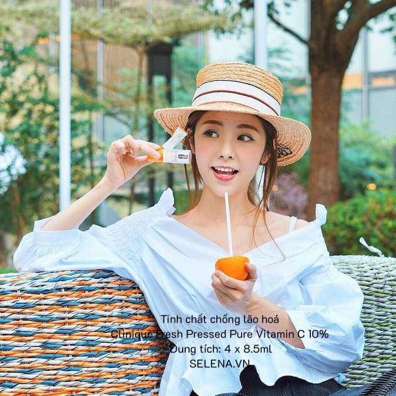 Tinh chất chống lão hoá Clinique Fresh Pressed Pure Vitamin C 10% - 4 chai