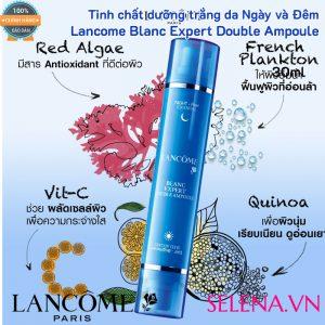 Tinh chất dưỡng trắng da Lancôme Blanc Expert Double Ampoule 30ml