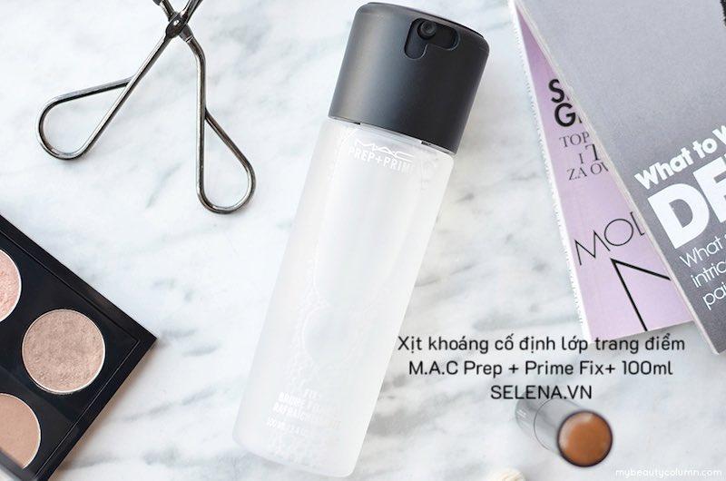 Xịt khoáng cố định lớp trang điểm M.A.C Prep + Prime Fix+ 100ml
