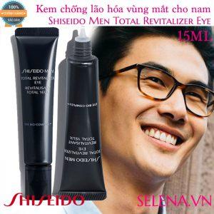 Kem chống lão hóa vùng mắt cho nam Shiseido Men Total Revitalizer Eye 15ml