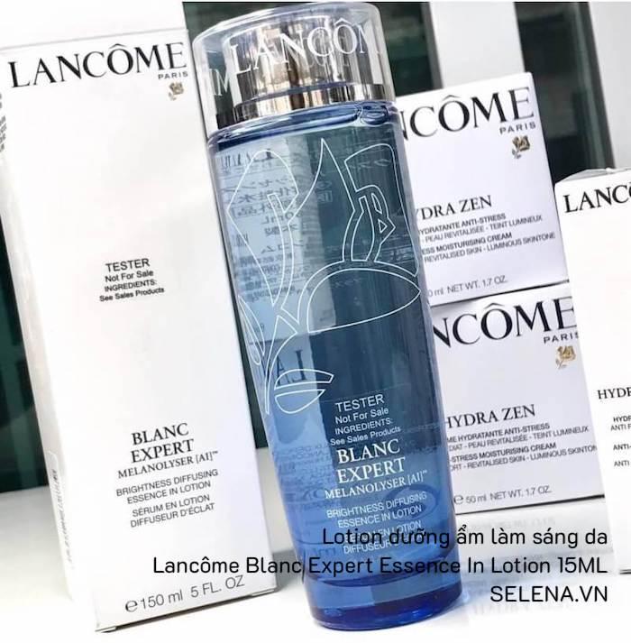Lotion dưỡng ẩm làm sáng da Lancôme Blanc Expert Essence In Lotion 15ML