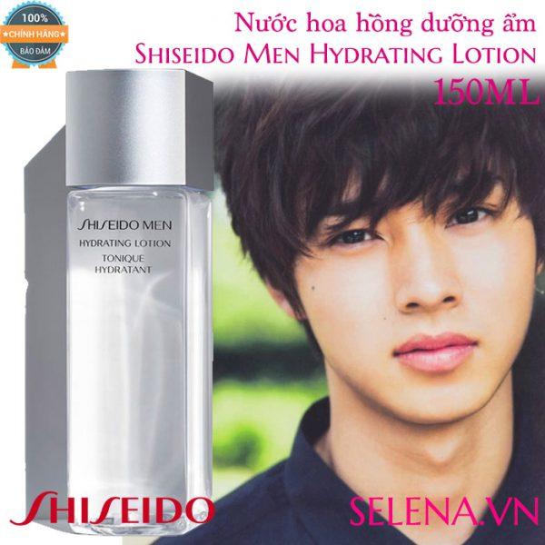 Nước hoa hồng dưỡng ẩm Shiseido Men Hydrating Lotion 150ml