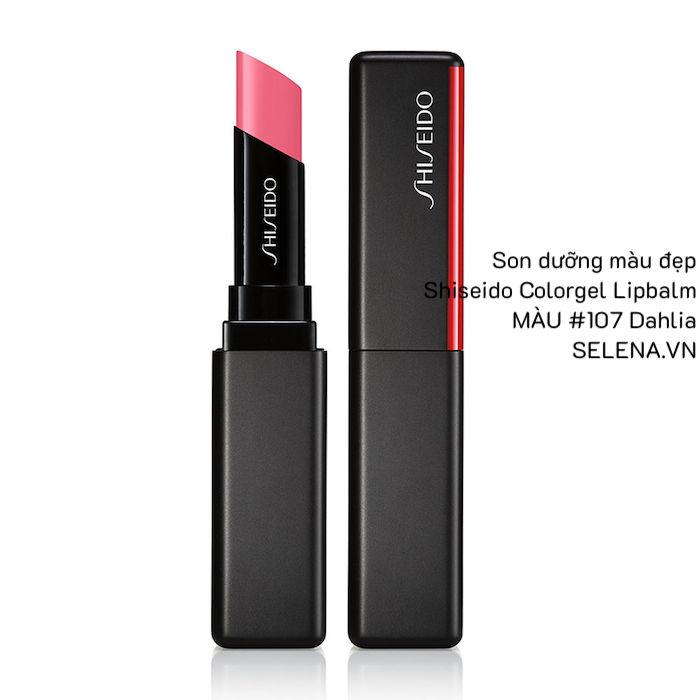 Son dưỡng màu đẹp Shiseido Colorgel Lipbalm #107 Dahlia