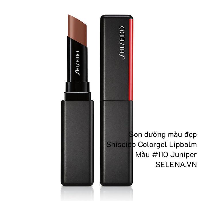 Son dưỡng màu đẹp Shiseido Colorgel Lipbalm #110 Juniper
