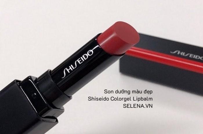 Son dưỡng ẩm kết cấu mềm mại với công nghệ độc quyền từ Shiseido, kết hợp cùng các sắc màu tươi tắn và sống động