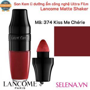 Son Kem dưỡng ẩm Lancome Matte Shaker #374 Kiss Me Chérie