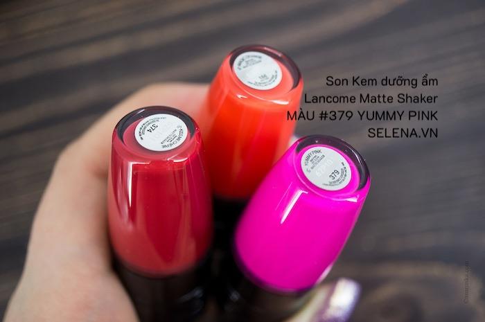 Son Kem dưỡng ẩm Lancome Matte Shaker #379 YUMMY PINK
