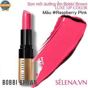 Son môi dưỡng ẩm Bobbi Brown Luxe Lip Color #Raspberry Pink