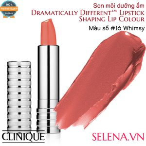 Son môi dưỡng ẩm Clinique Dramatically Different Lipstick #16 Whimsy