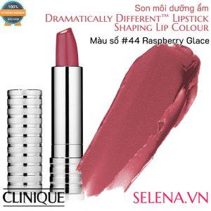 Son môi dưỡng ẩm Clinique Dramatically Different Lipstick #44 Raspberry Glace