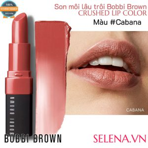 Son môi lâu trôi Bobbi Brown Crushed Lip Color #Cabana
